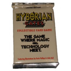 Sealed Booster Pack 1995 Cardz Hyborian Gates Collectible Card Game CCG