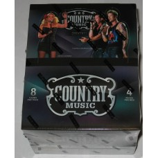 Factory Sealed 4 Pack Hobby Box 2014 Panini Country Music Trading Cards