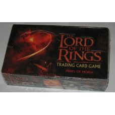 Factory Sealed Booster Box Decipher Lord of the Rings Card Game Mines of Moria