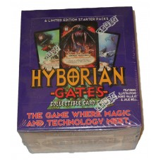 Sealed Starter Deck Box 1995 Cardz Hyborian Gates Collectible Card Game CCG