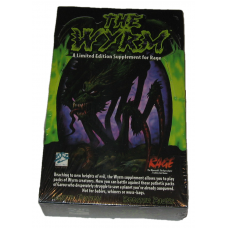 Factory Sealed Limited Edition Booster Box 1995 Rage The Wyrm CCG Game Cards