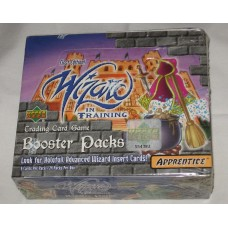 Factory Sealed 24 Booster Pack Box 2000 Upper Deck Wizard in Training Card Game