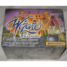 Factory Sealed 10 Starter Deck Box 2000 Upper Deck Wizard in Training Card Game
