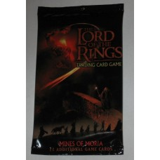 Factory Sealed 11 Card Booster Pack Decipher Lord of the Rings Mines of Moria