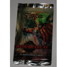 Factory Sealed 11 Card Booster Pack L5R Seeds of Decay Legend of the 5 Rings CCG