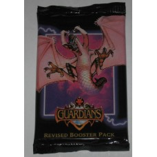 Factory Sealed Booster Pack 1995 FPG Guardians Revised CCG Trading Card Game