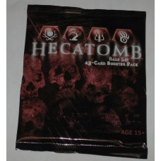 Factory Sealed Unopened Booster Pack WOTC Hecatomb Base Trading Card Game CCG