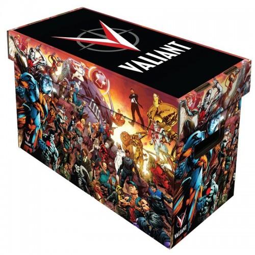 10 BCW Short Cardboard Comic Book Storage Boxes w Valiant Universe Art Design  sc 1 st  Hobbies Depot & 10 BCW Short Cardboard Comic Book Storage Boxes w Valiant Universe ...