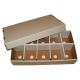 Bundle of 10 BCW Cardboard Baseball / Trading Card Sorting Trays