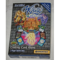 Factory Sealed 2 Player Starter Deck 2000 Upper Deck Wizard in Training CCG