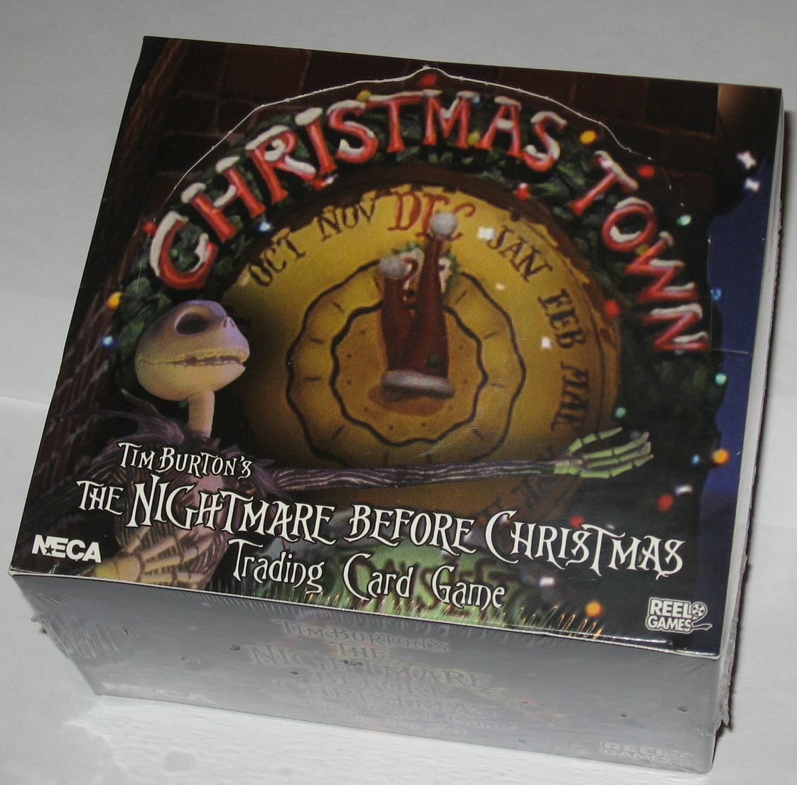 Factory Sealed Booster Box Nightmare Before Xmas Christmas