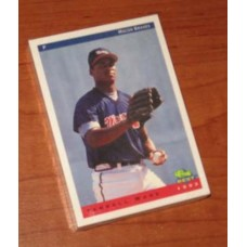 1993 Classic Macon Braves 30 Card Team Set