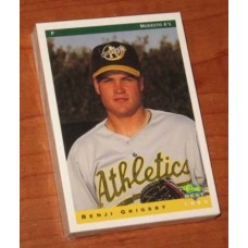 1993 Classic Modesto A's 28 Card Team Set Jason Giambi