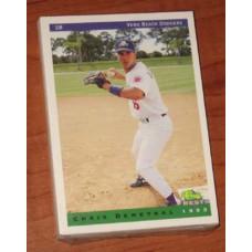 1993 Classic Vero Beach Dodgers 30 Card Team Set
