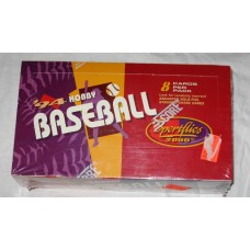Sealed 24 Pack Hobby Box 1994 Score Sportflics Baseball Cards