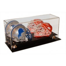 BCW Deluxe Acrylic Double Mini Helmet Display w/ Mirror