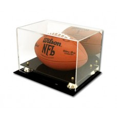 BCW Deluxe Acrylic Football Display - With Mirror