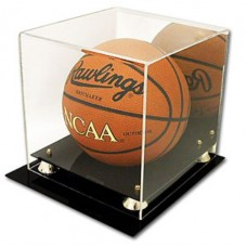 BCW Deluxe Acrylic Basketball Display - With Mirror