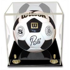 BCW Deluxe Soccer/Volley Ball Display - With Mirror