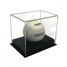 BCW Deluxe Acrylic Softball Display Holder Cube