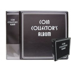 BCW Black Coin Collector's 3 inch Album binder