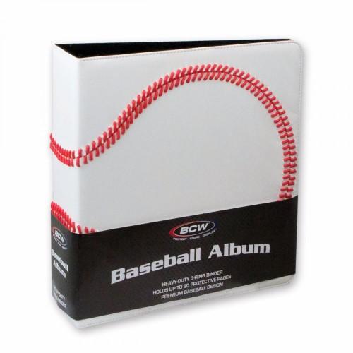 BCW 3 Inch Premium White Baseball Card Collectors Album 3