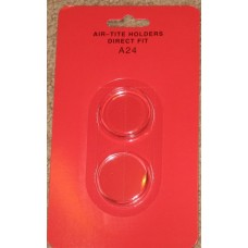 Air Tite Direct Fit Round US Quarter Size Coin Capsule #A24
