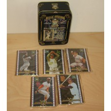 Cooperstown Collection Metal 5-Card Set Hank Aaron and 4 Others