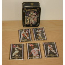 Cooperstown Collection Metal 5-Card Set Rod Carew and 4 Others