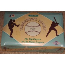 Sealed Box 1991-1992 Procards Tomorrow's Heroes Baseball Cards