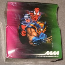 Factory Sealed Box 1996 Marvel Motion Comic Trading Cards