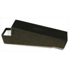 One BCW Coin Flip / Snap Storage Box - 2 x 2 x 9 - Black