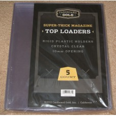 Pack of 5 CBG Super Thick Magazine / Program Topload Holders