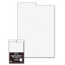 Pack of 25 BCW White Comic Book Box Dividers - 7 1/4 x 10 3/4