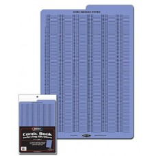Pack of 10 BCW Tabbed Blue Comic Book Indexing Dividers