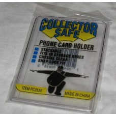 Collector Safe Phone / Credit / Gift Card Mini Snap Tite Holder