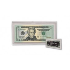 BCW Regular Small Currency Us Dollar Bill Slab Protector