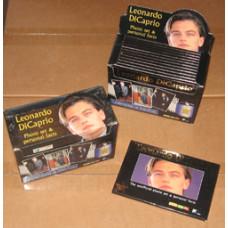 Sealed Leonardo Dicaprio 18 Photograph Collector Set