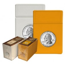 25 BCW Foam Graded Coin Slab Inserts Only - Quarter Color