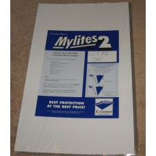 Pack of 50 Mylites 2 Mil Mylar 11x17 Art Print Poster Bags