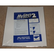 Pack of 50 Mylites 2 Mil Mylar 33RPM LP Record Album Bags