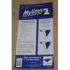 Pack of 50 Mylites 2 Mil Mylar Reader's Digest / Paperback Bags