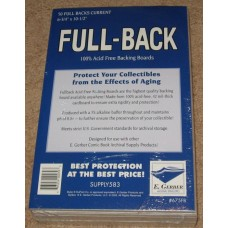 Pack of 50 E Gerber Full Back Premium Current Comic Book Boards
