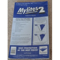 Pack of 50 Mylites 2 Mil Mylar Current / Modern Comic Book Bags