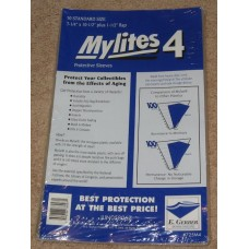 Pack /50 Mylites 4 Mil Mylar Bronze / Silver Age Comic Book Bags