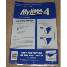 Pack of 50 Mylites 4 Mil Mylar Dell / Silver Age Comic Book Bags