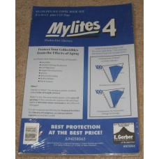 Pack of 50 Mylites 4 Mil Mylar Golden Age Comic Book Bags