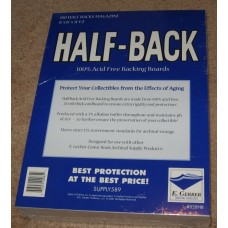 Pack of 100 E Gerber Half Back Premium Magazine Backer Boards