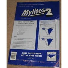 Pack 50 Mylites 2 Mil Mylar Large Comic Book /Thin Magazine Bags