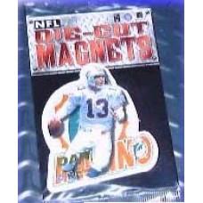 New 3 Inch Die Cut Dan Marino 1996 NFL Superstar Magnet